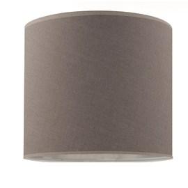 Paralume per lampada da comodino personalizzabile Cilindro tortora
