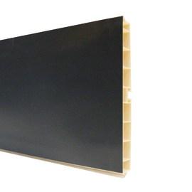 Zoccolino H 15 cm nero L 300 cm