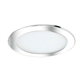 Faretto da incasso Ex.bath cromo fisso rotondo Ø 22,5 cm 150 W luce CCT (colour changing temperature)