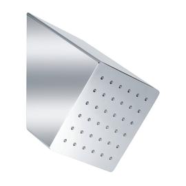 Soffione 15 x 15 cm acciaio inox cromato lucido
