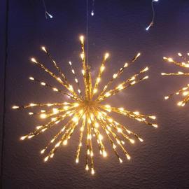 TWIGBall luminoso 160 minilucciole Led classica gialla 4 m