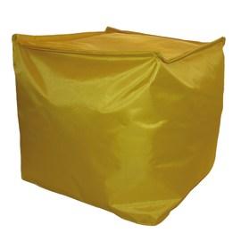 Cuscino pouf Idrorepellente giallo 45 x 45 cm