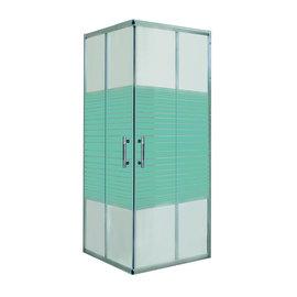 Box doccia scorrevole Maylea 68-80, H 190 cm cristallo 5 mm serigrafato/cromo