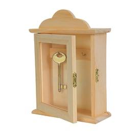 Armadietto porta chiavi Livigno chiaro 15 x 20 x 6 cm