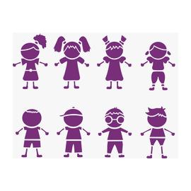 Stencil Bambini