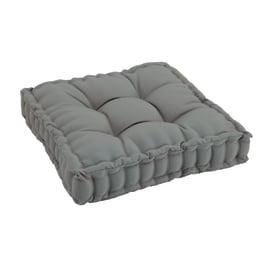 Cuscino seduta grigio 60 x 60 cm
