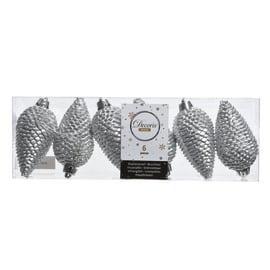 Box pigne argento ø 4,5 cm