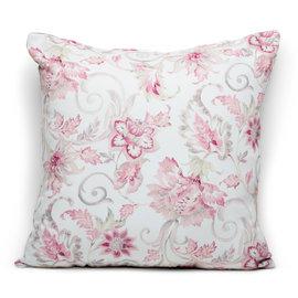 Fodera per cuscino Irina rosa retro tinta unita 60 x 60 cm
