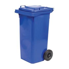 Bidone Carrellato blu Lucido 240 L