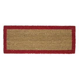 Zerbino Bordo rosso 25 x 50 cm