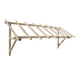 Tettoia in legno Helios L 305 x P 100 cm
