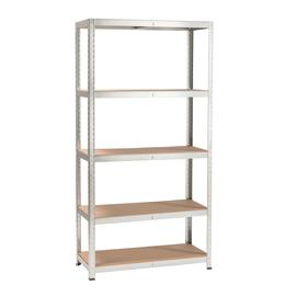 scaffali in metallo prezzi e offerte online leroy merlin. Black Bedroom Furniture Sets. Home Design Ideas
