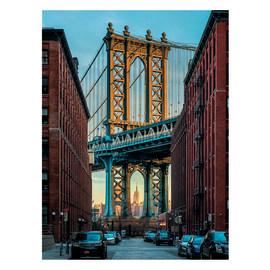 Fotomurale Brooklyn multicolor 148 x 248 cm