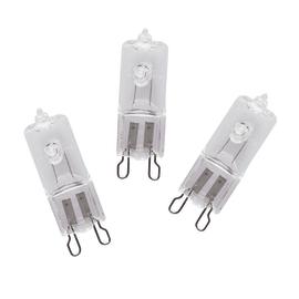 3 lampadine alogene Lexman G9 =40W