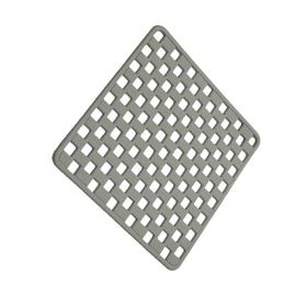 Tappeto antiscivolo doccia grigio