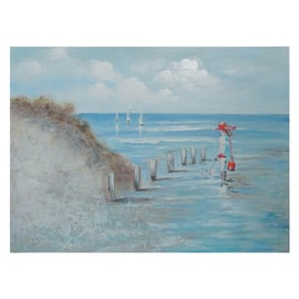 quadro dipinto a mano By the sea shore 120x90