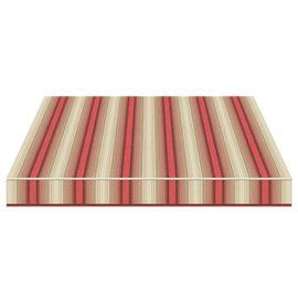 Tenda da sole a bracci Tempotest Parà 240 x 210 cm beige/rosso/marrone Cod. 5010/11