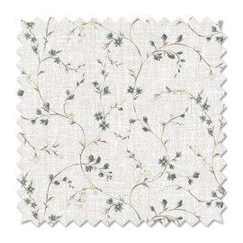 Tessuto al taglio Fiorellino grigio 280 cm
