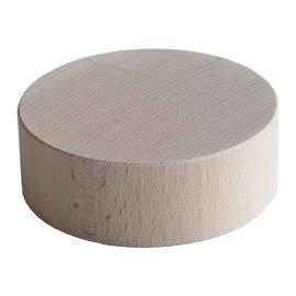 Ruota faggio grezzo naturale Ø 115 x  mm
