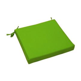 Cuscino seduta verde chiaro 37 x 40 cm