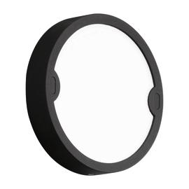 Applique Alfena-R nero tondo