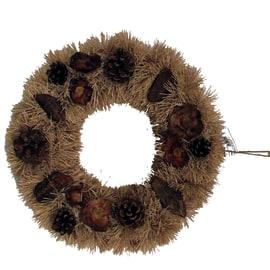 Fuoriporta naturale con bacche, ø 35 cm