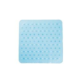 Tappeto antiscivolo doccia Frost azzurro