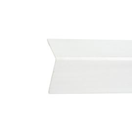 Paraspigolo PVC liscio bianco 3 x 50 x 3000 mm
