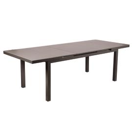 Tavolo allungabile Niagara, 180 x 100 cm grigio antracite