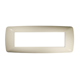 Placca 7 moduli FEB Flexì Brio bianco