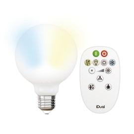 Lampadina LED E27 =60W goccia luce CCT 330°