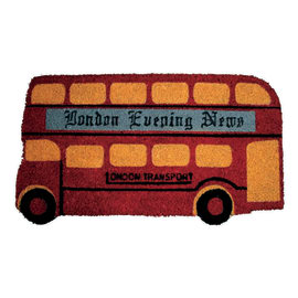 Zerbino Bus rosso 40 x 70 cm