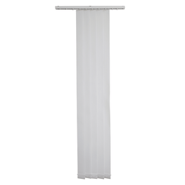 Tenda a lamelle verticali DUNCAN fantasia righe bianco L 40 x H 260 cm