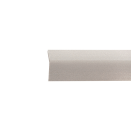 Paraspigolo PVC liscio grigio chiaro 3,5 x 30 x 3000 mm