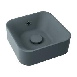 Lavabo da appoggio Capsule grigio