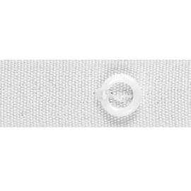 Fettuccia per tende a pacchetto con anelli 100 m x 16 mm