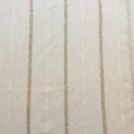 Coppia tendine a vetro per finestra Lazaros bianco 60 x 150 cm