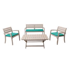 Set da giardino prezzi e offerte tavoli e sedie da esterno for Set birreria offerta