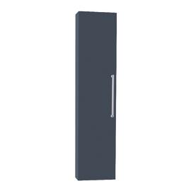 Colonna Ginevra SX grigio scuro 1 anta L 32 x H 140 x P 16 cm