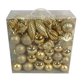 Box pendenti assortiti oro misure assortite