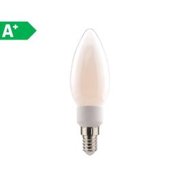 Lampadina LED Lexman E14 =60W oliva luce naturale 360°