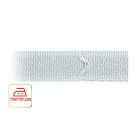 Fettuccia per tende a pacchetto termoadesivo 100 m x 16 mm