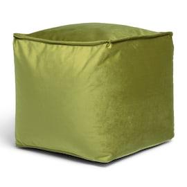 Cuscino pouf Viki verde 45 x 45 cm