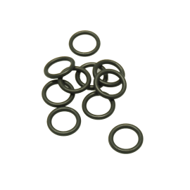10 guarnizioni o-ring in gomma, Ø 8,9 mm