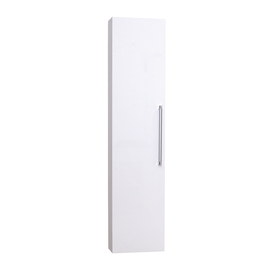 Colonna Ginevra SX bianco 1 anta L 32 x H 140 x P 16 cm