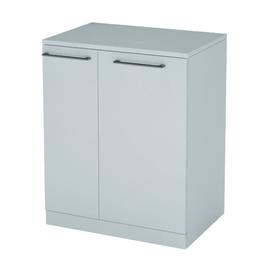 Base singola per lavatrice bianco 2 ante L 75 x H 93 x P 72 cm