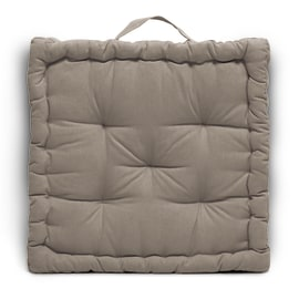 Cuscino Futon Clea Inspire tortora 40 x 40 cm