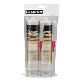 2 siliconi Axton bianco 310 ml