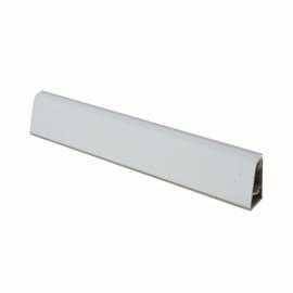 Alzatina su misura Apuano alluminio bianco H 3 cm