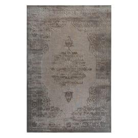 Tappeto Farashe bei/rosa grigio 160 x 230 cm